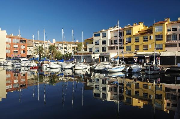 Le port Saint Martin - Le Cap d'Agde - F34